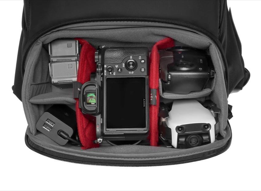вся рюкзак для фотоаппарата и вещей интерьеры созданы