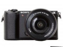 Sony Alpha A5100 Kit 16-50mm f/3.5-5.6 E OSS черный
