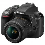 Nikon D3300 Kit 18-55 VR II Black