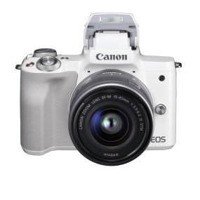 Цифровая камера Canon EOS M50 Kit EF-M 15-45mm f/3.5-6.3 IS STM белая