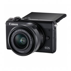 Цифровая фотокамера Canon EOS M100 Kit EF-M 15-45mm f/3.5-6.3 IS STM Black