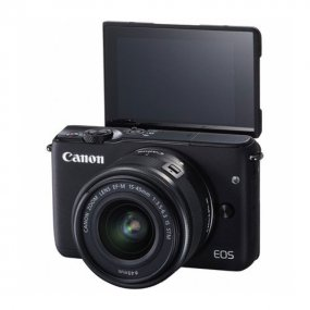 Цифровая фотокамера Canon EOS M10 Kit EF-M 15-45mm f/3.5-6.3 IS STM Black