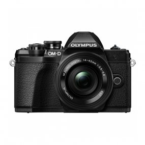 Цифровая фотокамера Olympus OM-D E-M10 Mark III Kit (EZ-M1442) Black