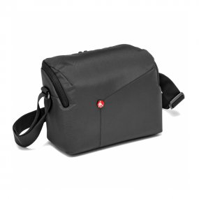Сумка для фотоаппарата Manfrotto NX II Shoulder Bag DSLR серая (MB NX-SB-IIGY)